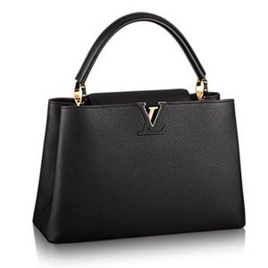 Louis Vuitton Taurillon Leather Capucines MM New